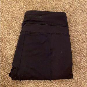 Cropped lulu leggings (two materials)